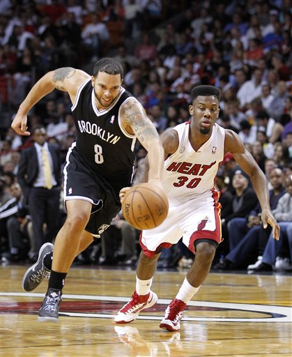Norris Cole, Deron Williams