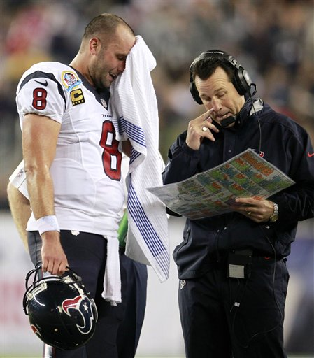 Matt Schaub, Gary Kubiak