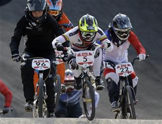 London Olympics BMX Cycling