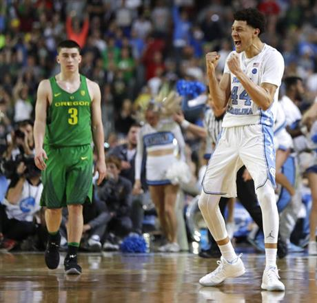 APTOPIX Final Four Oregon North Carolina Basketball