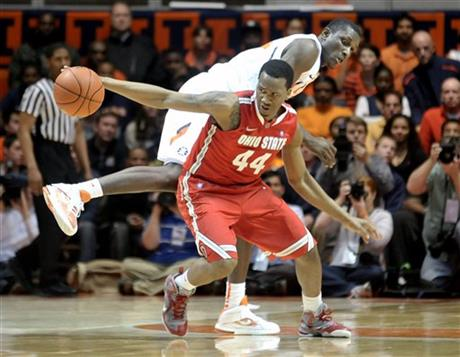 Ohio St Illinois Basketball