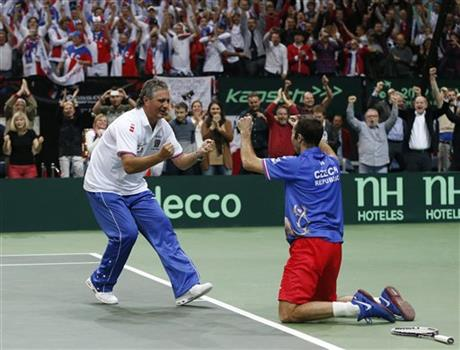 Czech Republic Spain Tennis Davis Cup