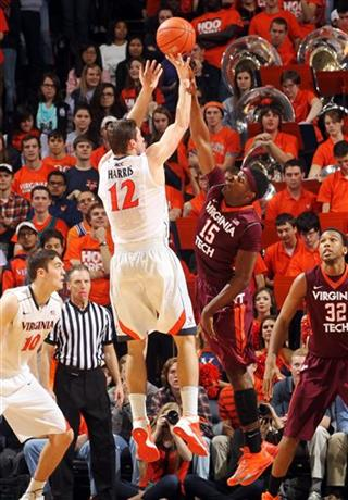 Virginia Tech Virginia Basketball