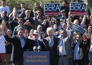 John Garamendi, Jerry McNerney, Bill Clinton, Ami Bera