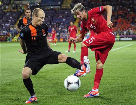 Soccer Euro 2012 Portugal The Netherlands