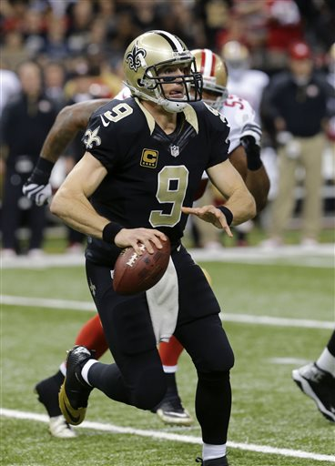 Drew Brees, Ahmad Brooks
