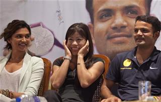 Deepika Padukone, Mary Kom, Vijay Kumar