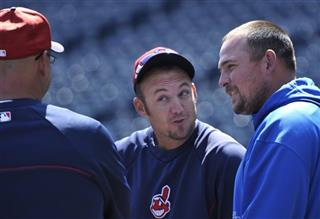 Terry Francona, Ryan Raburn, Billy Butler