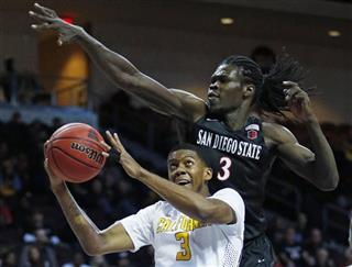 APTOPIX San Diego St California Basketball