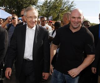 Harry Reid, Dana White