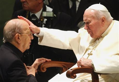Marcial Maciel, Pope John Paul II