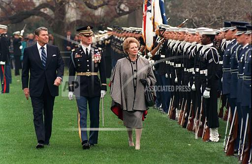 Associated Press Domestic News Dist. of Columbia United States REAGAN MARGARET THATCHER