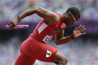 London Olympics Athletics Men Broken Leg