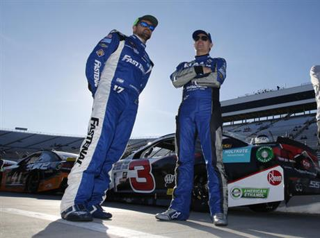 Jeff Gordon, Ricky Stenhouse Jr.