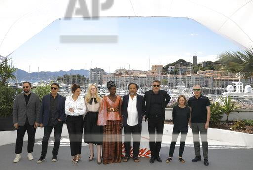 France Cannes 2019 Jury Photo Call