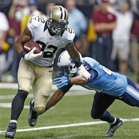 Mark Ingram, George Wilson