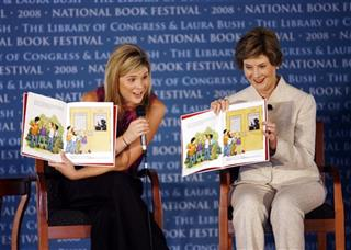 Laura Bush, Jenna Hager