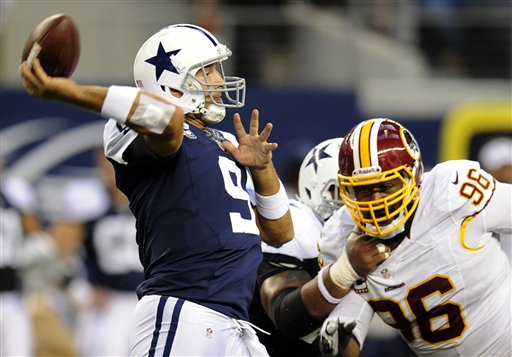 Tony Romo, Barry Cofield