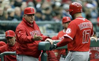 Chris Iannetta, Mike Scioscia