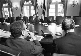 Richard Nixon, Henry Kissinger, William P. Rogers, Melvin R. Laird