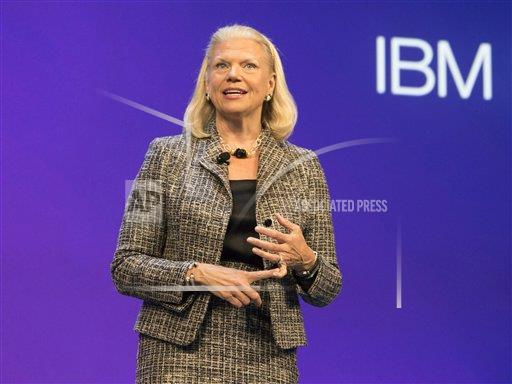 FPS FPS FOR IBM A F I FL USA Feature Photo Service IBM CEO DISCUSSES BUSINESS PARTNER ROLE IN THE COGNITIVE ERA