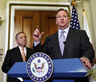 Roger Goodell, Dick Durbin