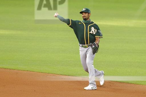 MLB: SEP 12 Athletics at Rangers