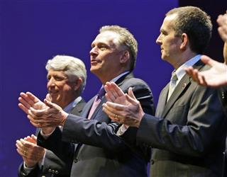 Terry McAuliffe, Ralph Northam, Mark Herring