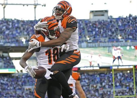 A.J. Green, Mohamed Sanu