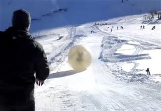 CORRECTION Russia Zorbing Death