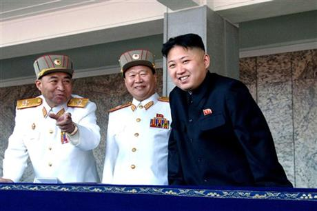 Kim Jong Un, Choe Ryong Hae, Ri Yong Ho