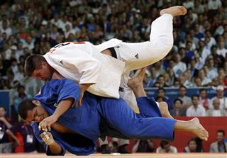 APTOPIX London Olympics Judo Men