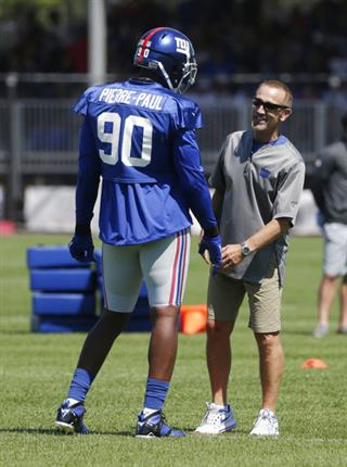 Jason Pierre-Paul, Steve Spagnuolo