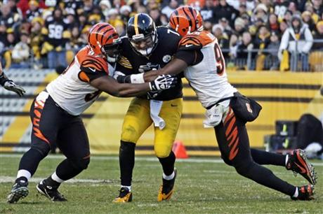 Ben Roethlisberger, Geno Atkins, Carlos Dunlap