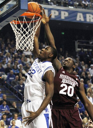 Mississippi St Kentucky Basketball