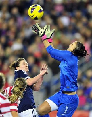 Hope Solo, Joanne Love