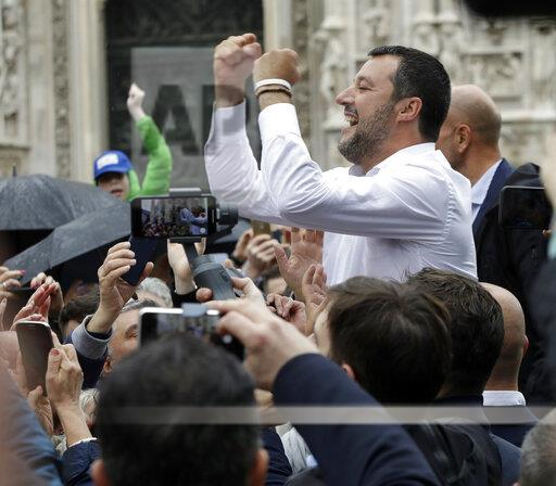 Italy European Elections Populists