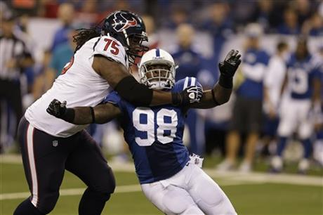 Robert Mathis, Derek Newton