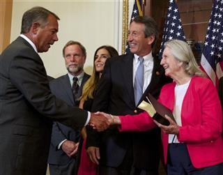 John Boehner, Mark Sanford, Peggy Sanford,