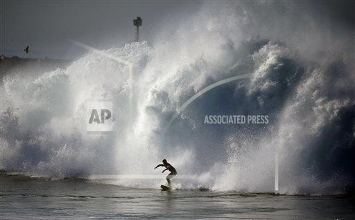 Southern California Storm Surf