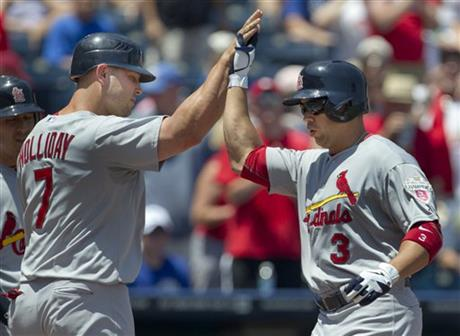 Carlos Beltran, Matt Holliday