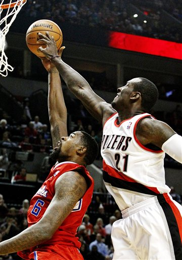 J.J. Hickson, DeAndre Jordan