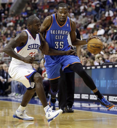 Kevin Durant, Jason Richardson