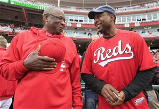 Cris Carter, Dusty Baker