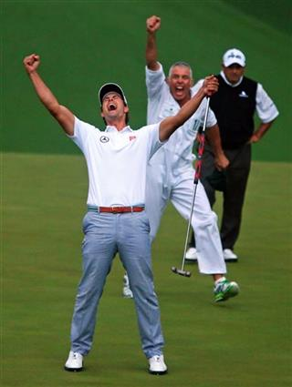 Adam Scott, Steve Williams, Angel Cabrera