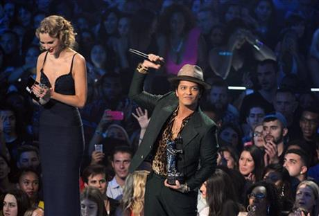 Taylor Swift, Bruno Mars