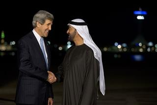 John Kerry, Mohamed bin Zayed