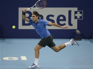 Switzerland Tennis Swiss Indoors Federer