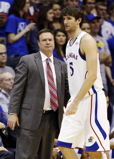 Bill Self, Jeff Withey