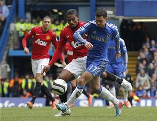 Eden Hazard, Antonio Valencia